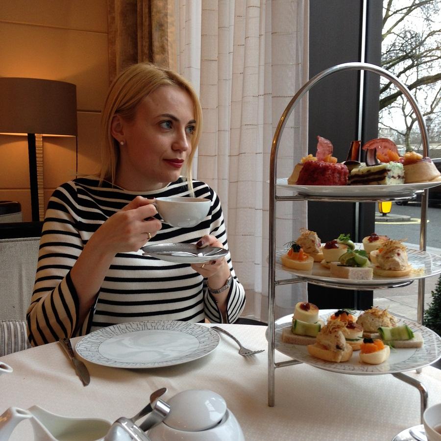 GUILTLESS AFTERNOON TEA AT INTERCONTINENTAL LONDON