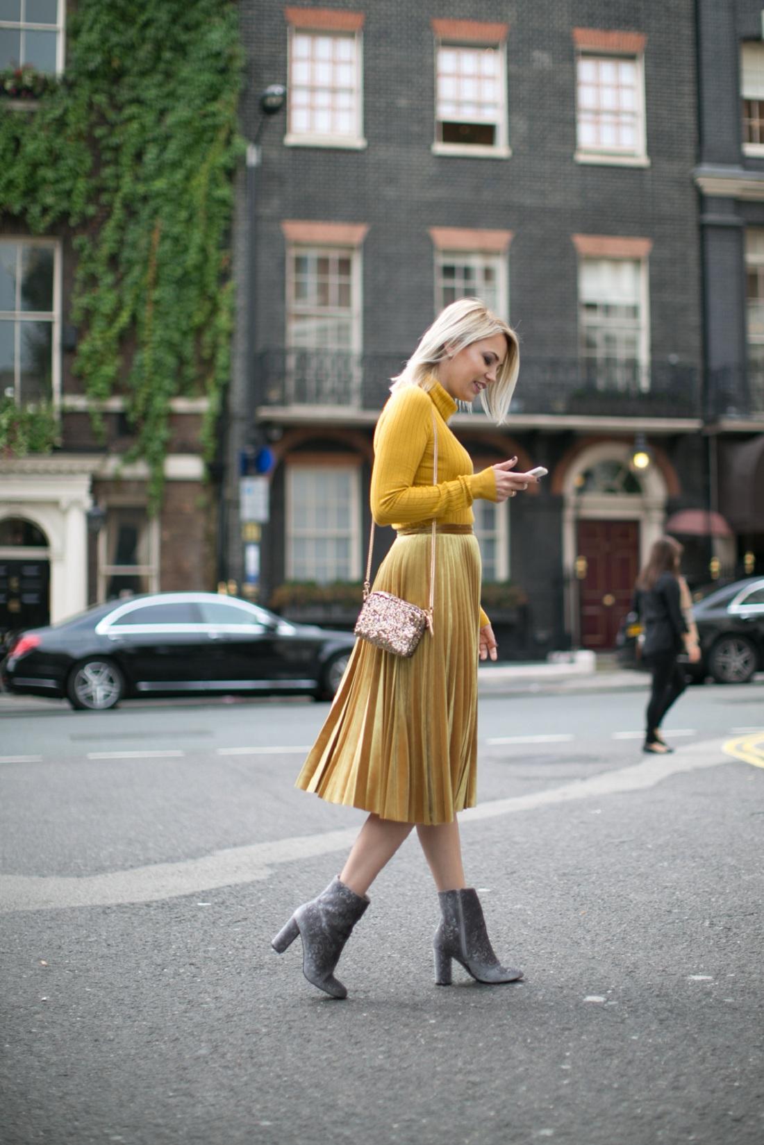 London Fashion Week Day2 Street Style Londonska Nedelja