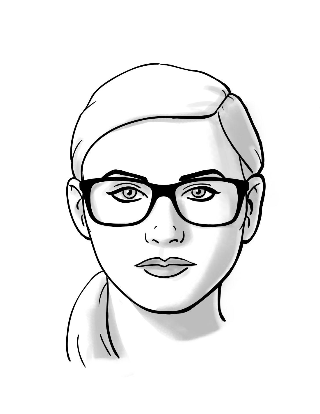 OKRUGLO Kao što samo ime kaže, ovo je oblik bez oštrih uglova sa tendencijom da bude najširi u predelu jagodica i zaobljen duž linija vilice i čela.Dužina lica je jednaka ili približno jednaka njegovoj širini.