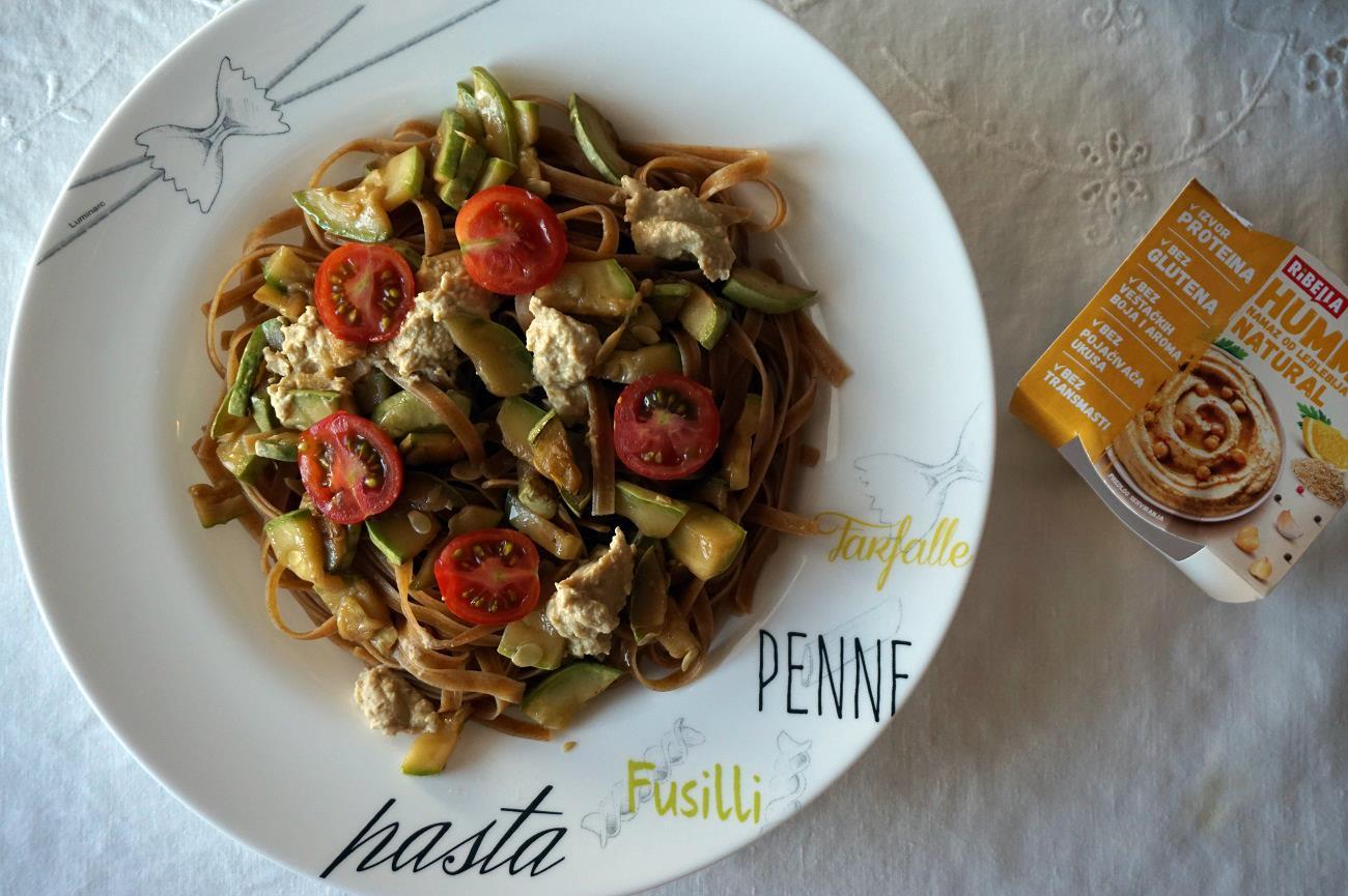 Ribella humus na tri načina-recepti